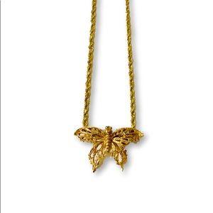 Jewelry - Pre💛 14k Butterfly Necklace